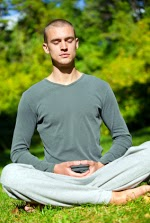 Deep meditation requires proper posture for free energy movement.