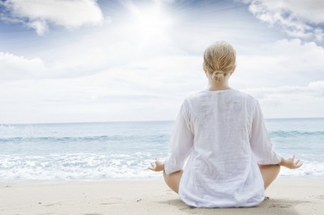 Meditate for peace of mind.